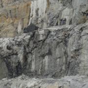 BAT Diavek Mine 2011 Rock Scaling with ice.JPG