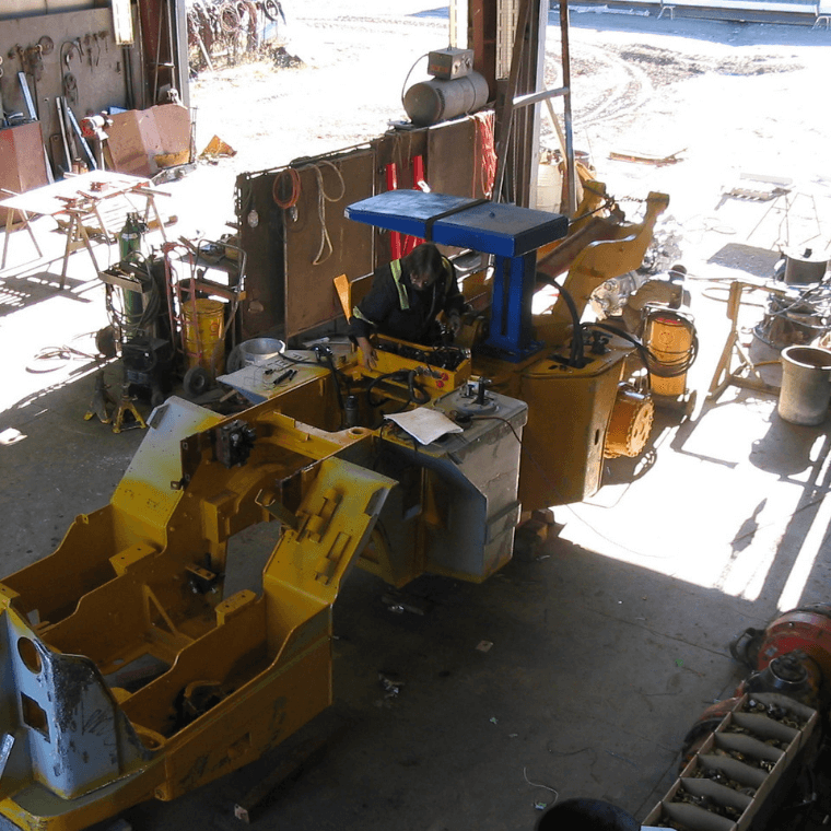 Specialty Equipment Fabrication Shop