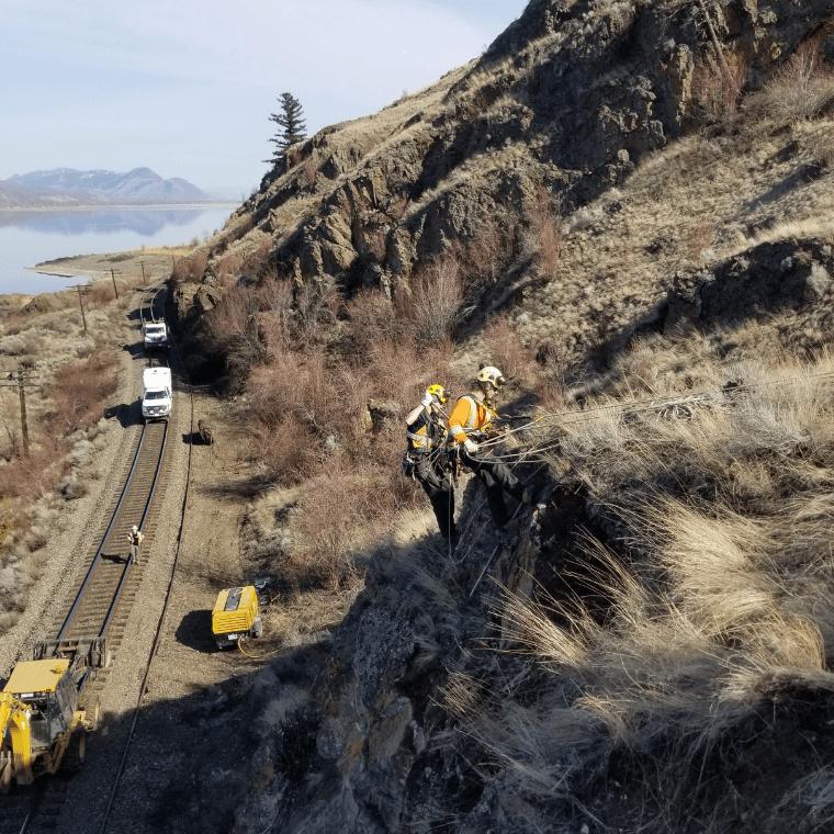 Remote Access with Hi-Rail equipment