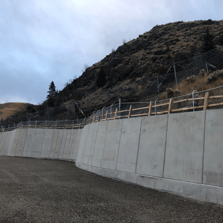 Retaining Walls:
